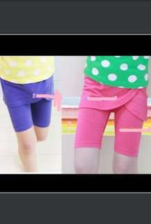 Girls skirtpant