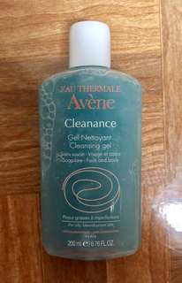 Facial wash avene cleanance gel