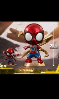Hot toys cosbaby 25cm XL iron spider