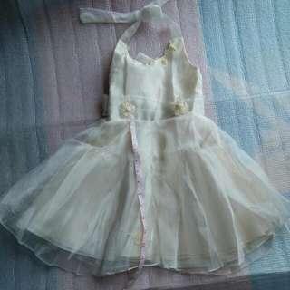 Baby Dress Para Sa Binyag