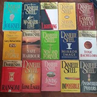 15 Danielle Steel Novels