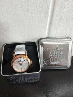 💗Authentic 💗HK Disney genuine leather watch with date