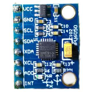 MPU-6050 GY-521 Three Axis Gyroscope+Accelerometer Module with Pin Header Soldered