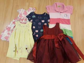 Bundle dress - 2yo