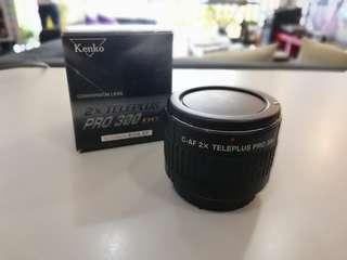 Kenko 2x teleconverter for Canon EF