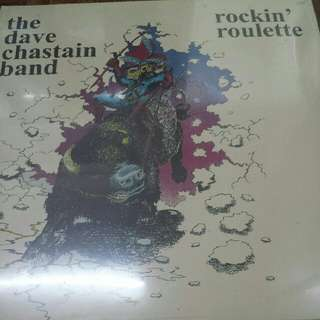 The Dave Chastain Band–Rockin' Roulette - Vinyl LP Record - Sealed, Mint - Akarma Records