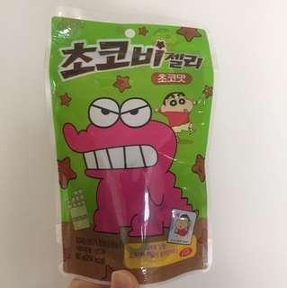 Chocolate gummy 蠟筆小新軟糖