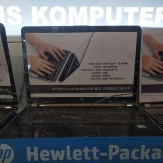 Laptop HP 14-bs015tu bisa dicicil tanpa kartu kredit