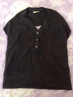 Fashion vest-backless