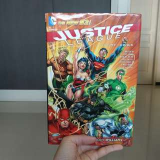 Justice League New 52 Vol.1 Hardcover