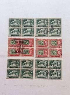 四方連邮票-45张(180枚)