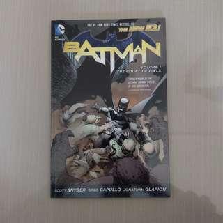 New 52 Batman Volume 1