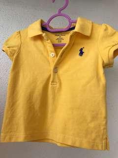 Ralph Lauren Babygirl Tshirt