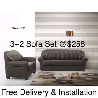 Jayden 3+2 sofa set