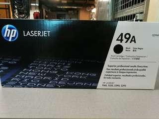 HP 49A Original Black Laserjet Printer Toner (BNIB)
