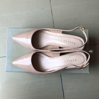 Vincci Nude Pink Shoes