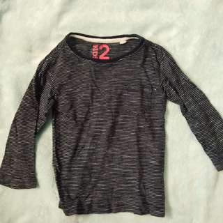 Cotton on stripes long sleeves