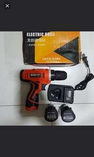 12v battery drill 2batt