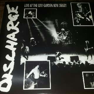 Discharge–Live At The City Garden New Jersey - Vinyl Record LP