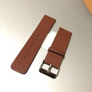 Fitbit Blaze Brown Composite Leather Strap Elegant Casual Formal