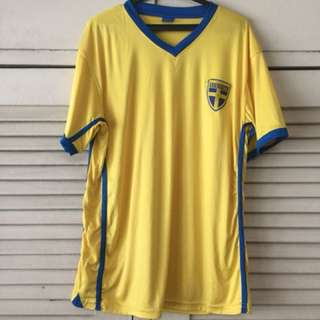 Sweden Sports Shirt Large
