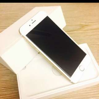 🚚 I phone 6 64g gold colour