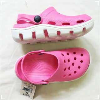 Crocs Inspired Pink Slippers for Girls