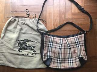 Authentic Burberry Bag