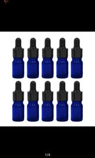 (5ml)Glass bottle with dropper