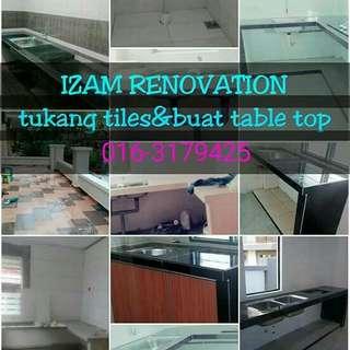 Baiki table top&psg tiles