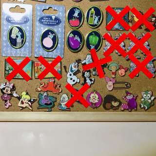 Disney Pins for trade or sell