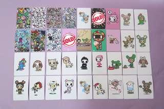 Tokidoki Ez-link Card Sticker