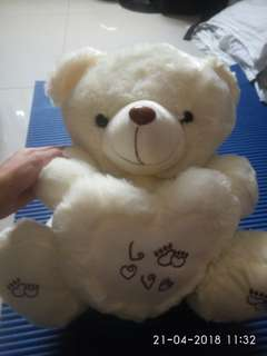 Teddy bear putih
