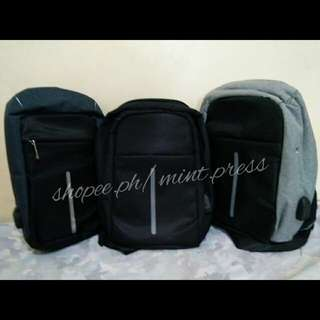 Anti theft shoulder bag