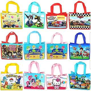 1for$1.20 12for$14 Pinkfong Baby Shark Cars McQueen Paw Patrol Robocar Poli Super Wings Hello Kitty My Little Pony Pokemon Minions Transformers Justice League Party/Goodie Bag