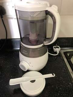 Philips Avent 4-in-1 Baby Foodmaker
