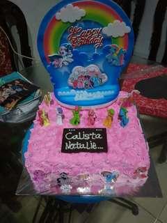 Bday Cake little pony
