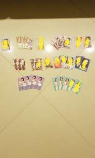 [WTS] TWICE What Is Love Photocard/Postcard/Sticker