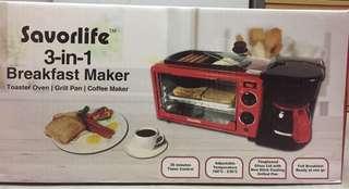 Savorlife 3in1 Breakfast Maker