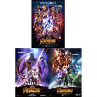 AVENGERS: INFINITY WAR MOVIE POSTERS (PART 9)