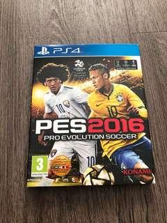 PS4 PES2016 pro soccer