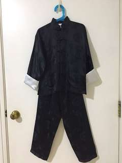 Boys mandarin collarChinese costume