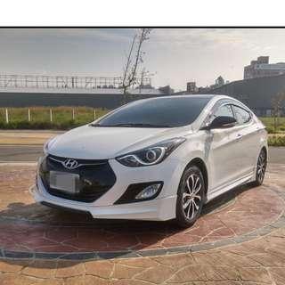 2014年 ELANTRA 黑潮版  大桃園優質二手中古車買賣