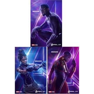 AVENGERS: INFINITY WAR MOVIE POSTERS (PART 10)