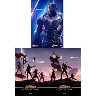 AVENGERS: INFINITY WAR MOVIE POSTERS (PART 11)