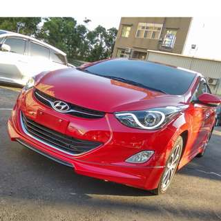 2015年 ELANTRA紅色頂級    大桃園優質二手中古車買賣