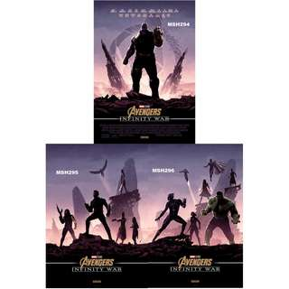 AVENGERS: INFINITY WAR MOVIE POSTERS (PART 12)