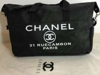 Authentic Chanel VIP Gym Duffle bag