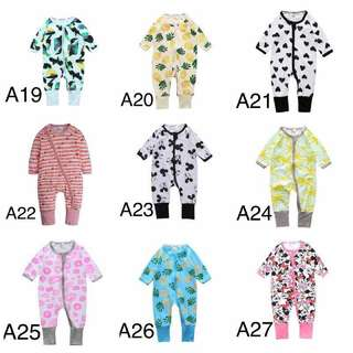 Bonds Inspired Sleepsuits A19-A27