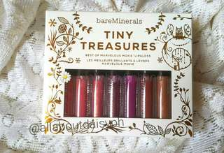 bareMinerals Tiny TreasuresMarvelous Moxie Lipgloss Collection